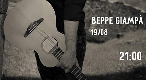Beppe Giampà in concerto nella Stone Oven House
