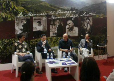 Presentazione al salone del libro di Torino