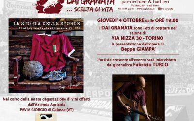 """Prima presentazione a Torino per """"La storia delle storie"""""""